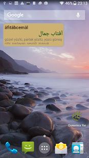 Osmanlıca Yaz - náhled