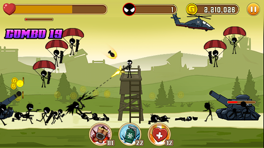Stickman Fight MOD Apk 1.4 (Unlimited Health) 2