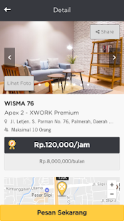 XWORK - Sewa Ruang Meeting- screenshot thumbnail