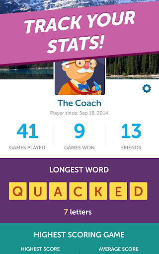 Word Streak-Words With Friends  screenshots 12