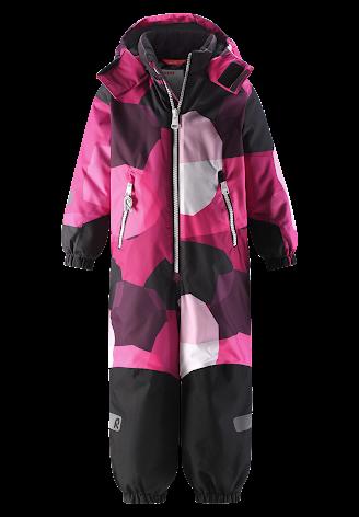 Reimatec Kiddo Snowy 520269B-4656 Raspberry Pink vinterdress