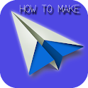 How To Make Paper Airplane icon